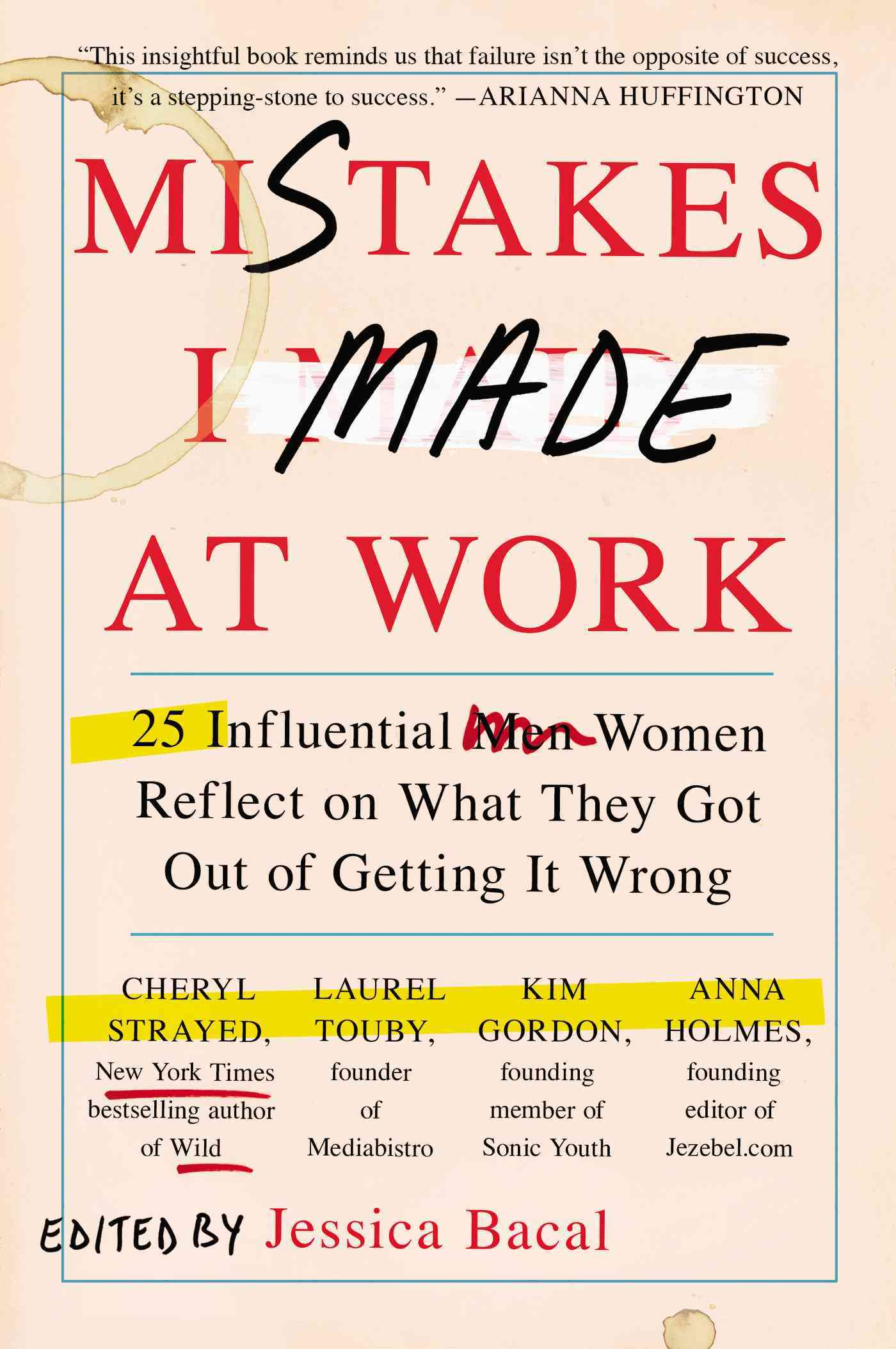 Mistakes I Made at Work By Bacal, Jessica